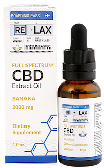 banana cbd oil tincture 2000 mg