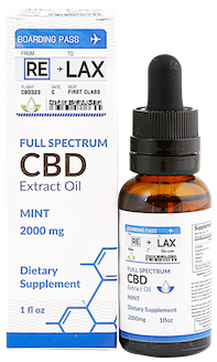 mint cbd oil tincture 2000 mg