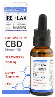 strawberry cbd oil tincture 2000 mg