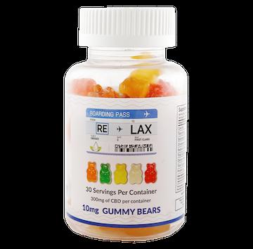 RE-LAX CBD Gummies – 10mg Gummy Bears