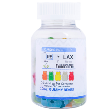 RE-LAX CBD Gummies – 10mg Gummy Bears