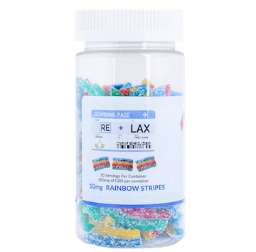 rainbow stripes 10mg