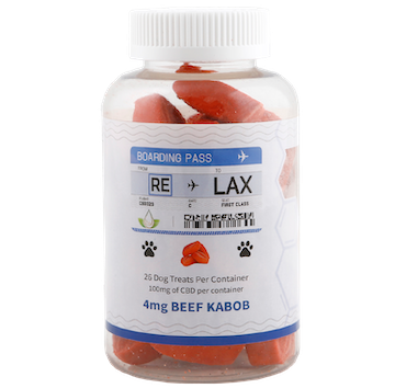 cbd pet treats 4mg beef kabob