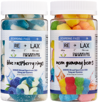 re-lax cbd gummy products